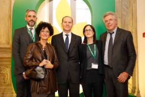 AgroNetwork News - Giangiacomo Pierini, Federica Argentati, Massimiliano Giansanti, Cristina Broch, Daniele Rossi.