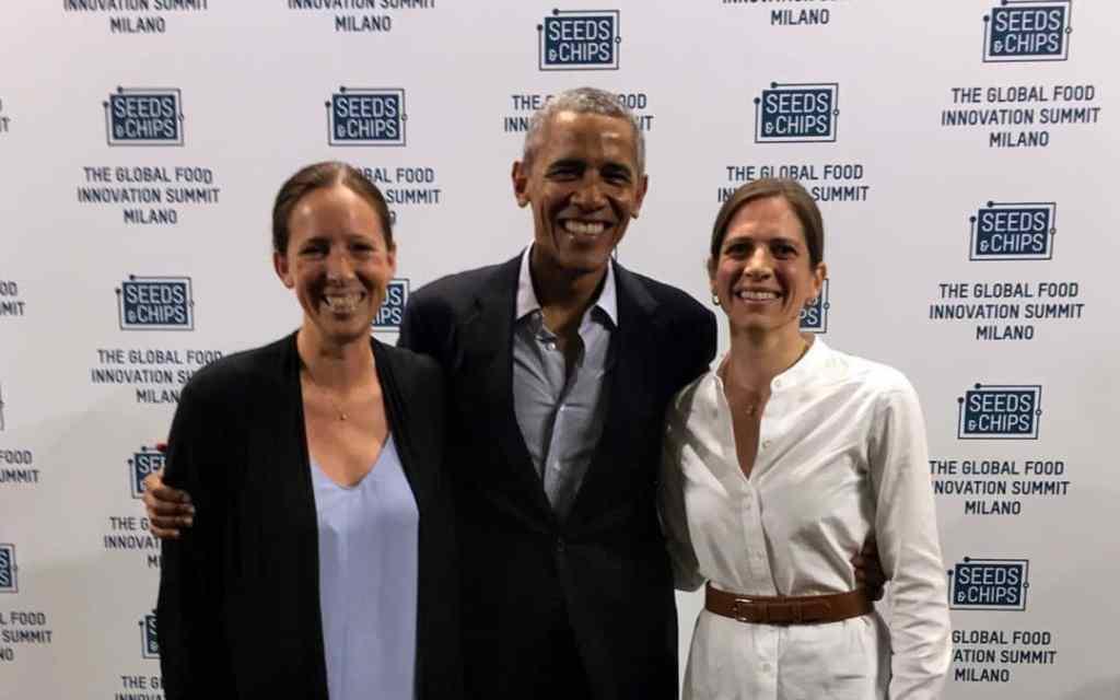IIl futuro è già presente - Obama con Ariane Lotti - Agronetwork Network