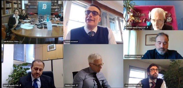 Agronetwork News - Da sinistra in senso orario - tavolo di presidenza, Morassut, Fontana, Gattoni