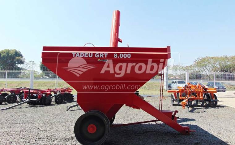 Carreta Graneleira 8 Toneladas GRT 8000 / sem Pneus – Tadeu > Nova - Carreta Agrícola Graneleira - Tadeu - Agrobill - Tratores, Implementos Agrícolas, Pneus