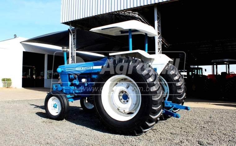 Trator Ford 6600 4×2 ano 1984 Direção Hidraulica, Revisado. - Tratores - New Holland - Agrobill - Tratores, Implementos Agrícolas, Pneus