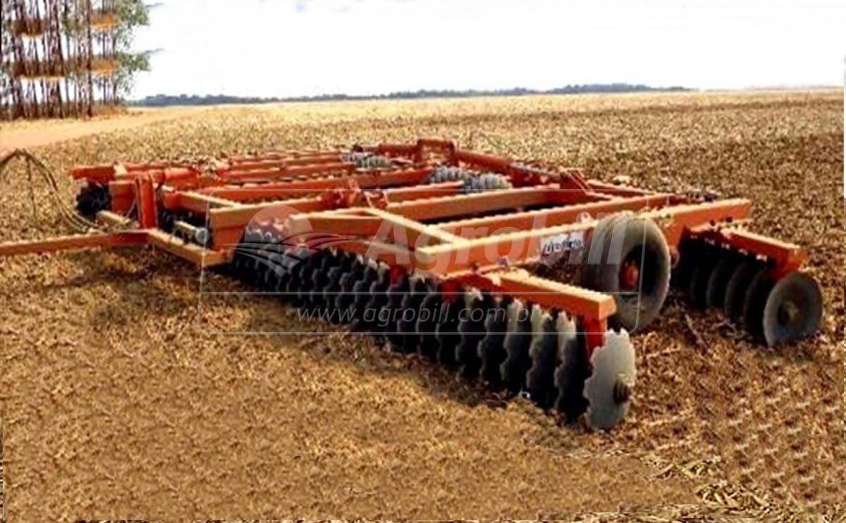 """Grade Super Destorroadora SNCP 108 x 22"""" x 200 mm / Dobrável / com Rodas – Civemasa > Nova - Grades Niveladoras - Civemasa - Agrobill - Tratores, Implementos Agrícolas, Pneus"""