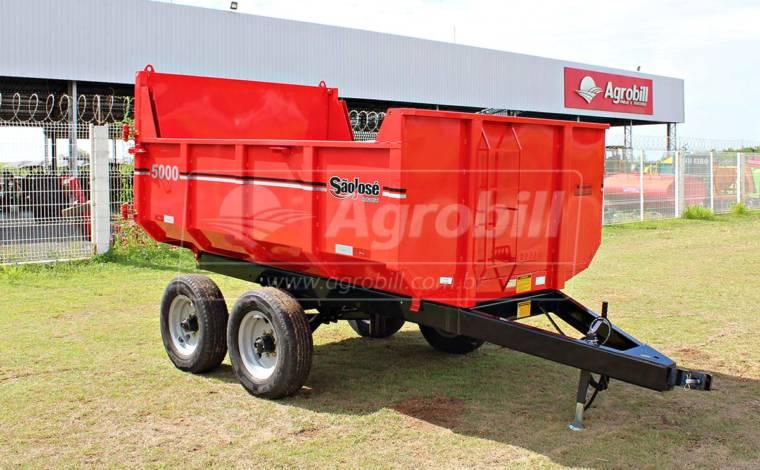 Carreta Agrícola Metálica Basculante LF 5.000 kg / sem Pneus – São José > Nova - Carreta Agrícola Metálica - São José - Agrobill - Tratores, Implementos Agrícolas, Pneus