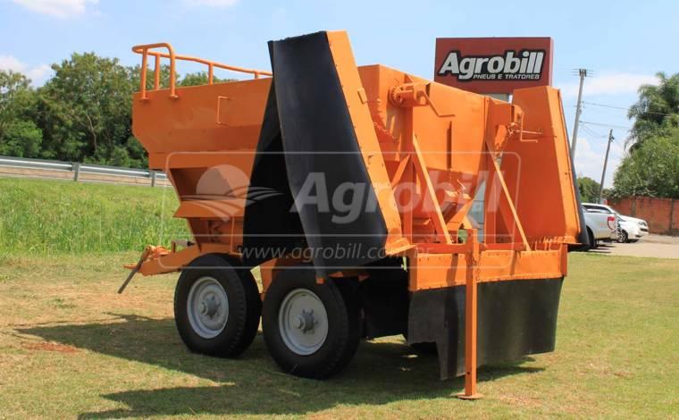 Distribuidor de Calcário de Arrasto / 5 Toneladas > Usado - Distribuidor de Calcário - Personalizado - Agrobill - Tratores, Implementos Agrícolas, Pneus