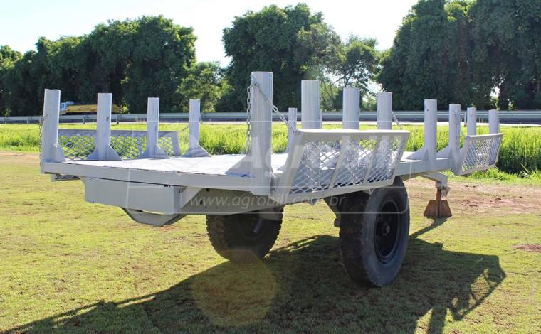 Carreta para Plantio de Cana 1 Eixo > Usada -  - Personalizado - Agrobill - Tratores, Implementos Agrícolas, Pneus