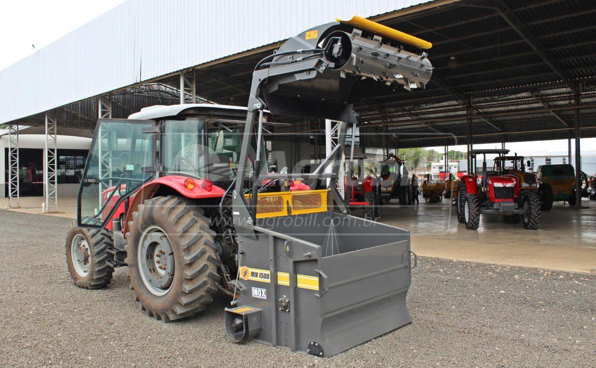 Vagão Misturador JF Mix 1500 S2 INOX / sem Rodas > Novo - Vagão Misturador - JF - Agrobill - Tratores, Implementos Agrícolas, Pneus