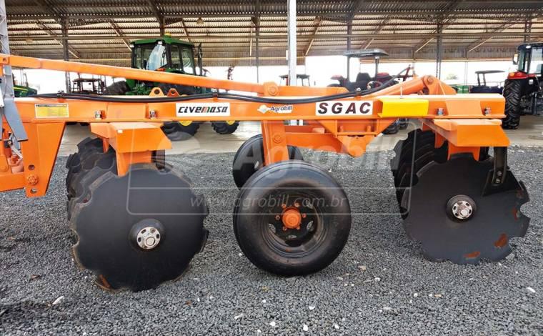 Grade Aradora Super Pesada SGAC 14 x 32″ – Civemasa > Nova - Grades Aradoras - Civemasa - Agrobill - Tratores, Implementos Agrícolas, Pneus