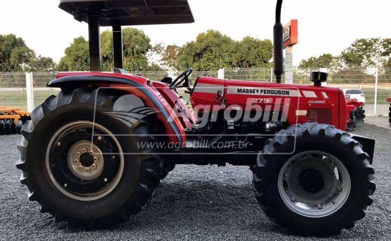 Trator Massey 275 4×4 Advanced ano 2009 com 4600 horas em otimo estado. - Tratores - Massey Ferguson - Agrobill - Tratores, Implementos Agrícolas, Pneus