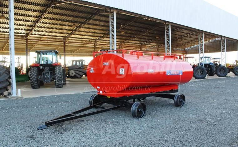Tanque de Água 4.000 Litros / 2 Eixos / sem Pneus – Tadeu > Novo - Tanque de Água - Tadeu - Agrobill - Tratores, Implementos Agrícolas, Pneus
