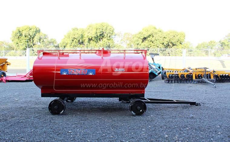 Tanque de Água 5.000 Litros / 2 Eixos / sem Pneus – Tadeu > Novo - Tanque de Água - Tadeu - Agrobill - Tratores, Implementos Agrícolas, Pneus