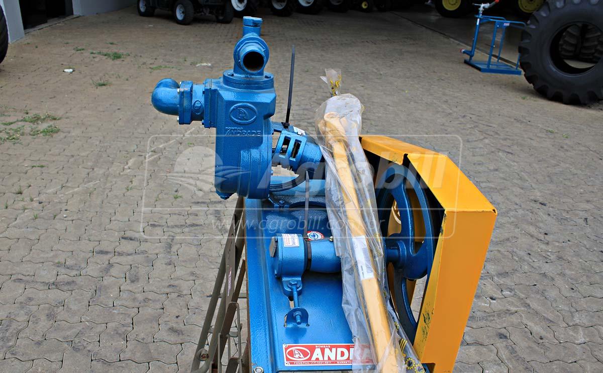 Bomba de Água TASP 51 / Polia e Correia – Andrade > Nova - Bomba de Água - Andrade - Agrobill - Tratores, Implementos Agrícolas, Pneus