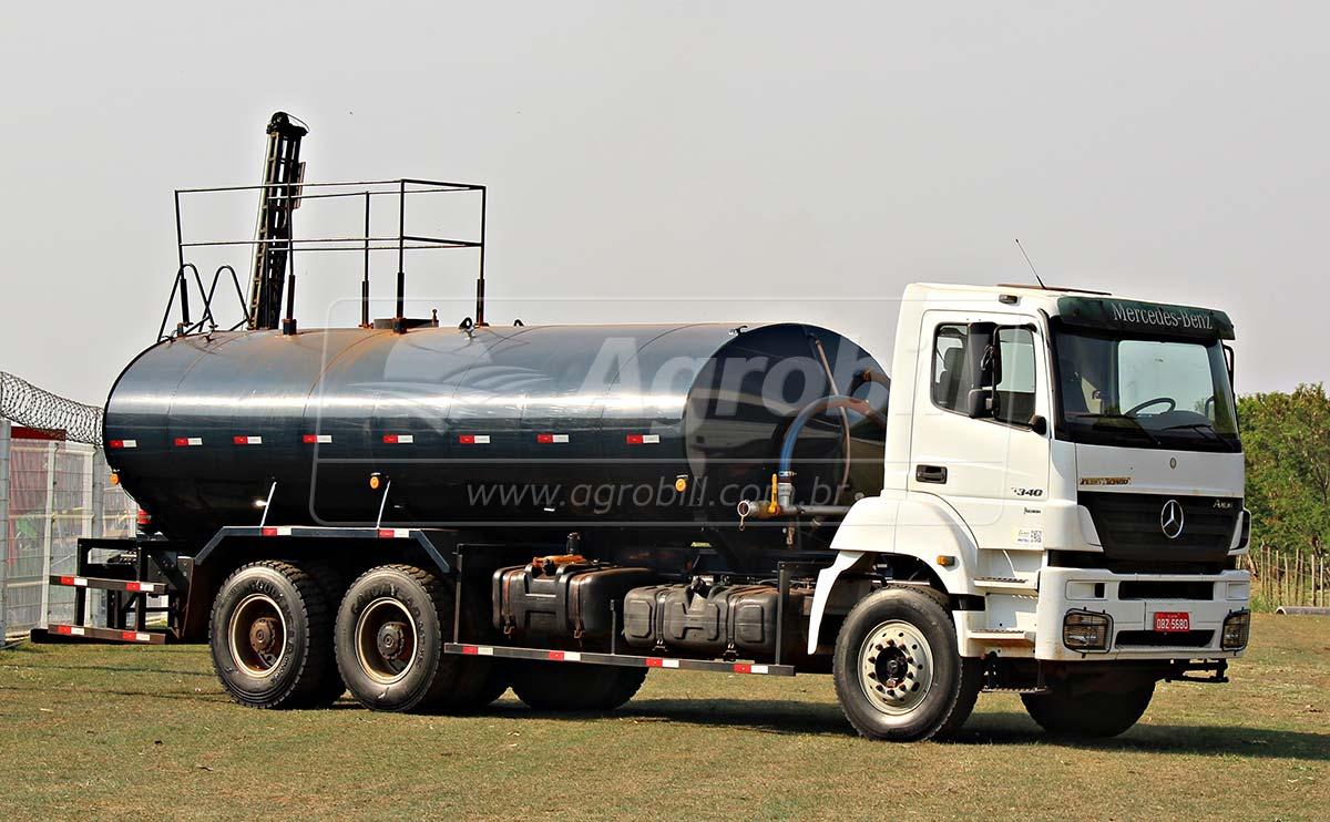 Caminhão Tanque Pipa  MB 3340 6×4 / Bombeiro 20.000 Litros / Ano 2011 - Caminhões - Mercedes-Benz - Agrobill - Tratores, Implementos Agrícolas, Pneus