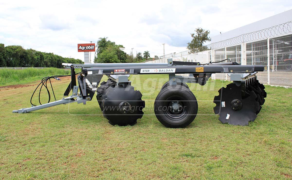 Grade Aradora Pesada GTCR 14 x 32″ x 9 / 340 mm / com Pneus Duplos – Baldan > Nova - Grades Aradoras - Baldan - Agrobill - Tratores, Implementos Agrícolas, Pneus