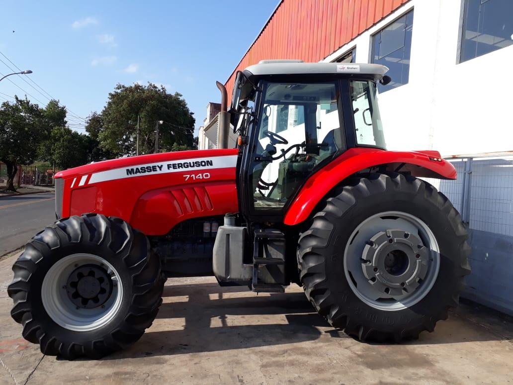 Trator Massey 7140 4×4 ano 2012 em otimo estado. - Tratores - Massey Ferguson - Agrobill - Tratores, Implementos Agrícolas, Pneus