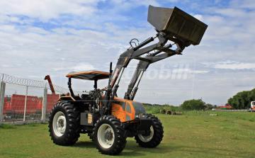 Trator Valtra A 850 4×4 ano 2014 com Plaina Baldan e Redutor de veloçidade - Tratores - Valtra - Agrobill - Tratores, Implementos Agrícolas, Pneus