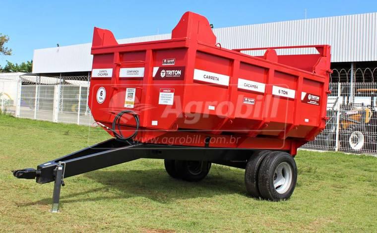 Carreta Caçamba 6 Toneladas / sem Pneus – Triton > Nova - Carreta Agrícola Metálica - Triton - Agrobill - Tratores, Implementos Agrícolas, Pneus