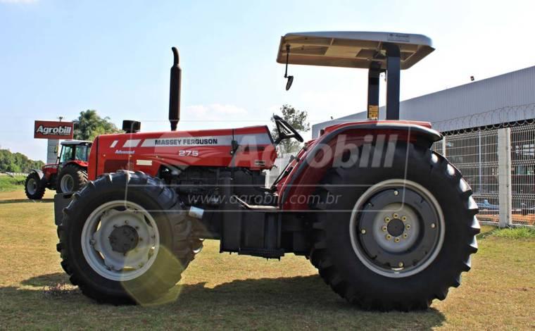 Trator Massey 275 4×4 ano 2010 com Redutor de velocidade (creeper) - Tratores - Massey Ferguson - Agrobill - Tratores, Implementos Agrícolas, Pneus
