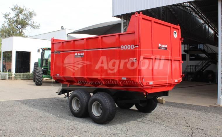 Carreta Agrícola Metálica Basculante LF 9.000 Kg / com Pneus – São José > Nova - Carreta Agrícola Metálica - São José - Agrobill - Tratores, Implementos Agrícolas, Pneus