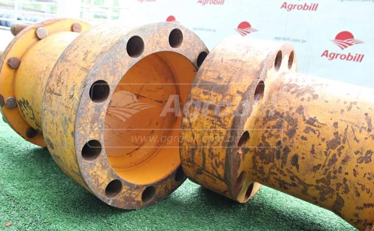 Alongador / Prolongador de Eixo 10 Furos > Usado - Peças - Personalizado - Agrobill - Tratores, Implementos Agrícolas, Pneus