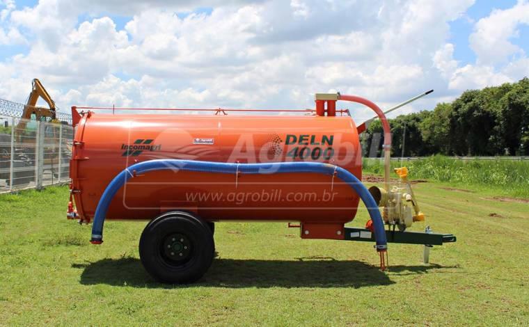 Distribuidor de Esterco Líquido DELN 4000/ Sem Pneus – Incomagri > Novo - Tanque de Água - Incomagri - Agrobill - Tratores, Implementos Agrícolas, Pneus