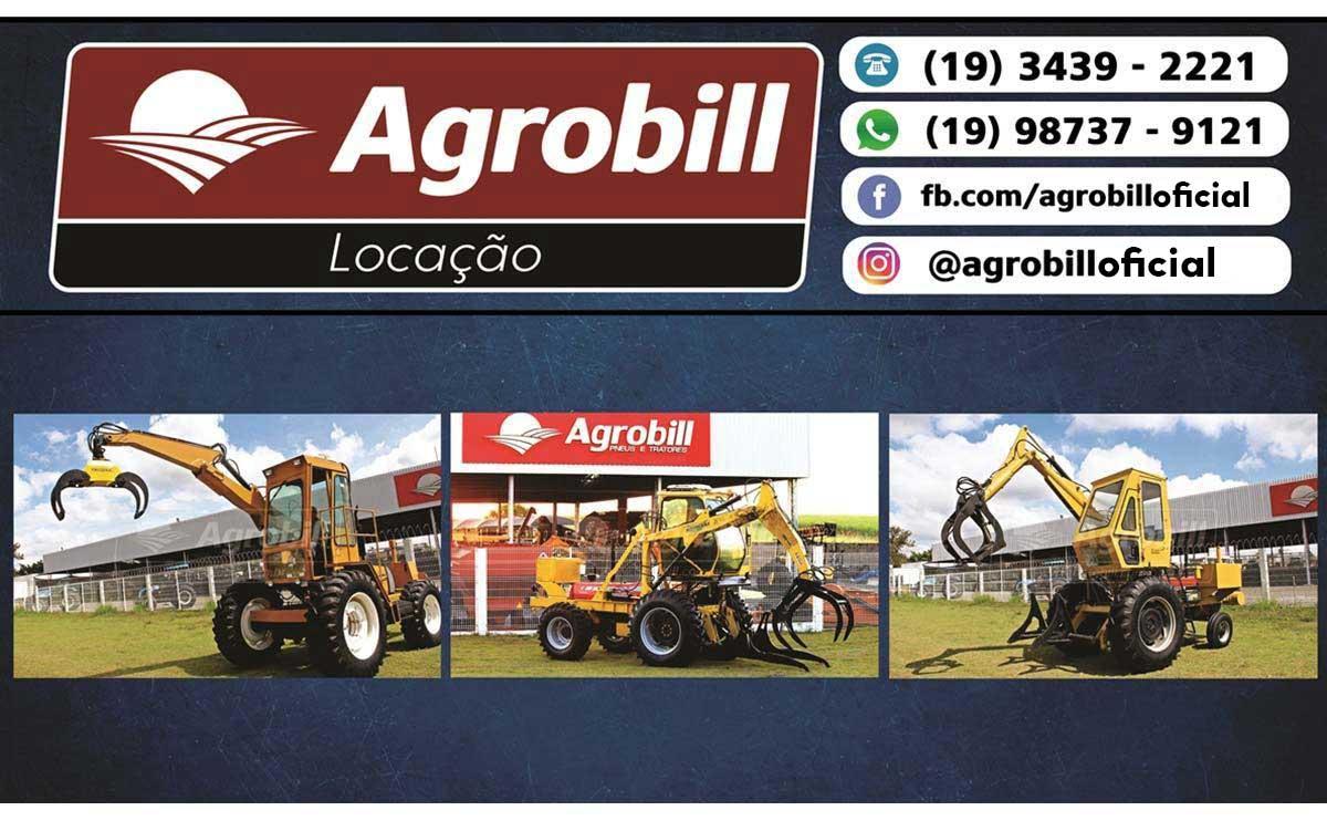 Trator Carregadeira > Locação - Locação - Massey Ferguson - Agrobill - Tratores, Implementos Agrícolas, Pneus