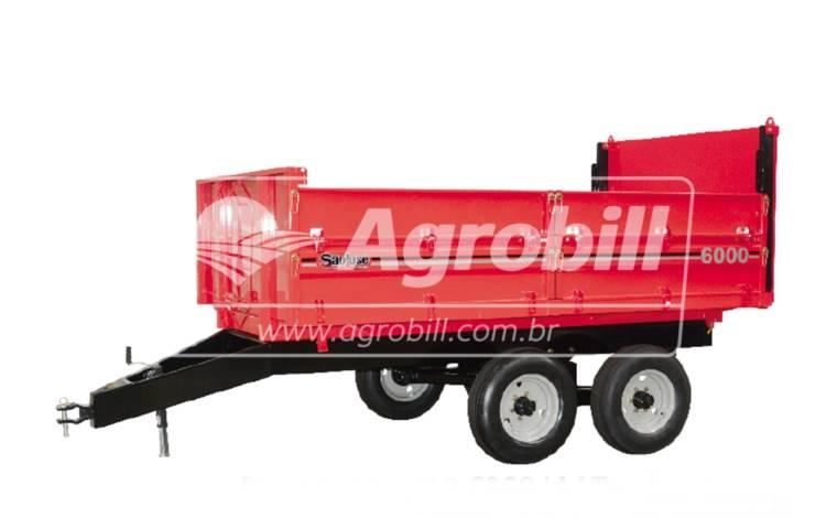 Carreta Agrícola Metálica Basculante LM 5.000 kg / sem Pneus – São José > Nova - Carreta Agrícola Metálica - São José - Agrobill - Tratores, Implementos Agrícolas, Pneus