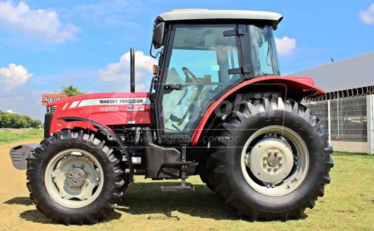 Trator Massey 4283 4×4 ano 2017 Cabinado em otimo estado. - Tratores - Massey Ferguson - Agrobill - Tratores, Implementos Agrícolas, Pneus