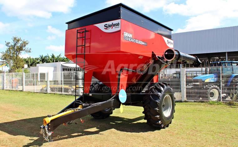 Carreta Graneleira Gran Standard 13.000 litros – São José > Nova - Carreta Agrícola Graneleira - São José - Agrobill - Tratores, Implementos Agrícolas, Pneus