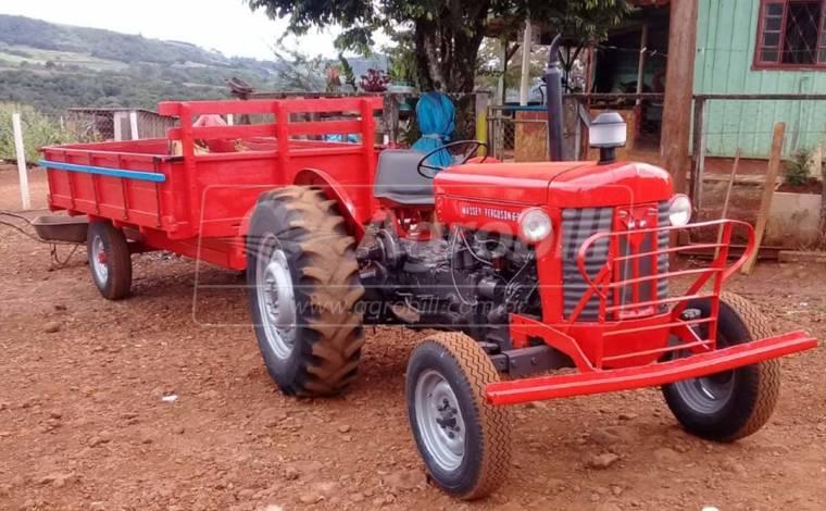 Trator Massey 65X 4×2 ano 1973 a venda ( valor anunciado só trator sem a carreta ) - Tratores - Massey Ferguson - Agrobill - Tratores, Implementos Agrícolas, Pneus