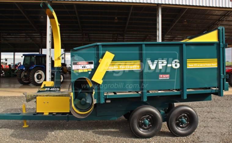 Vagão Forrageiro VP-6 com Ensiladeira PP-4610 com Afiador – Pinheiro > Novo - Vagão Forrageiro - Pinheiro - Agrobill - Tratores, Implementos Agrícolas, Pneus