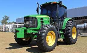 Trator John Deere 6110 J ano 2012 câmbio Powerquad c/ 4680 horas - Tratores - John Deere - Agrobill - Tratores, Implementos Agrícolas, Pneus