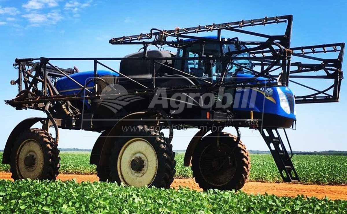 Pulverizador Autopropelido > Locação - Locação - New Holland - Agrobill - Tratores, Implementos Agrícolas, Pneus