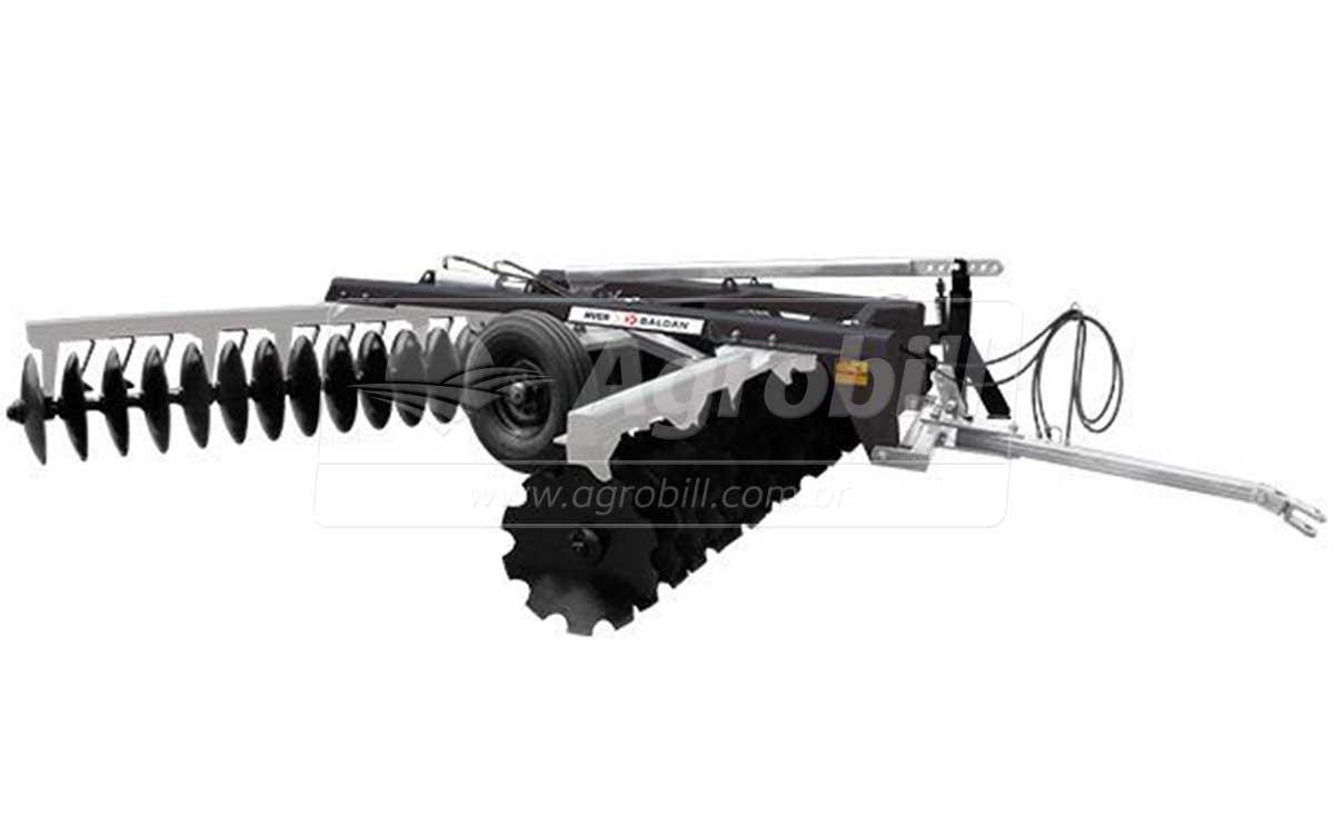 Grade Niveladora Controle Remoto NVCR 52 × 22″ x 200 mm / Discos Recortados – Baldan > Nova - Grades Niveladoras - Baldan - Agrobill - Tratores, Implementos Agrícolas, Pneus