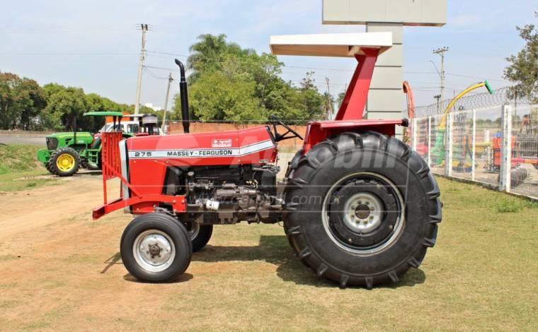Trator Massey 275 4×2 ano1988 com pneus encapados (galochas) - Tratores - Massey Ferguson - Agrobill - Tratores, Implementos Agrícolas, Pneus
