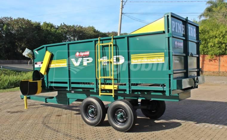 Vagão Forrageiro VP-10 Tandem – Pinheiro > Novo - Vagão Forrageiro - Pinheiro - Agrobill - Tratores, Implementos Agrícolas, Pneus