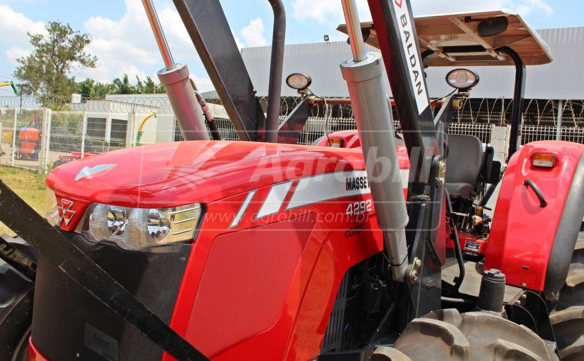 Trator Massey 4292 HD 4×4 ano 2016 com lamina BALDAN nova - Tratores - Massey Ferguson - Agrobill - Tratores, Implementos Agrícolas, Pneus