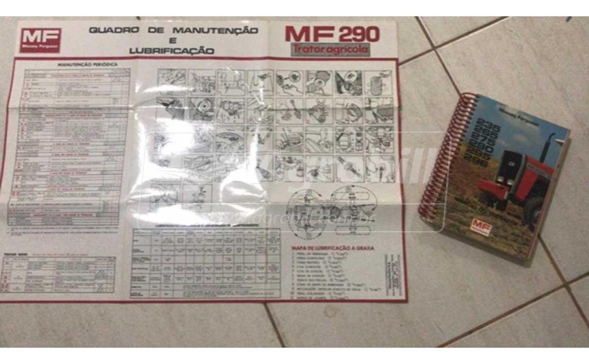 Trator MF 290 4×2 ano 1987 – Série 300.000 c/ 4500 horas - Tratores - Massey Ferguson - Agrobill - Tratores, Implementos Agrícolas, Pneus