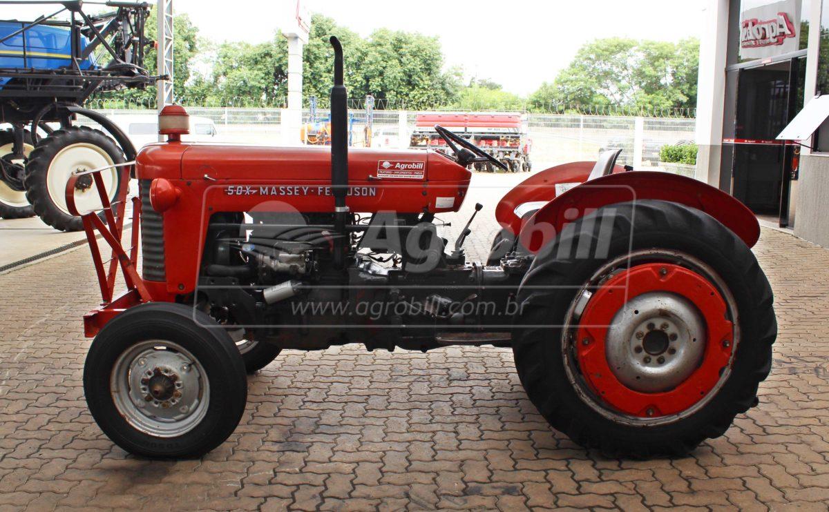 Trator Massey 50X 4×2 ano 1963 com pintura original - Tratores - Massey Ferguson - Agrobill - Tratores, Implementos Agrícolas, Pneus