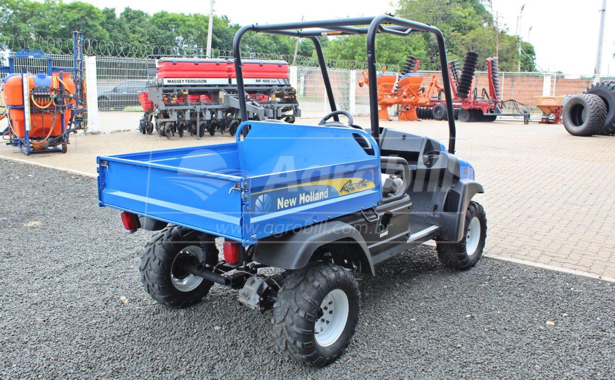 Veiculo Utilitário Rustler 120 New Holland 4×4 ano 2013 com 1005 horas - Tratores - Case - Agrobill - Tratores, Implementos Agrícolas, Pneus