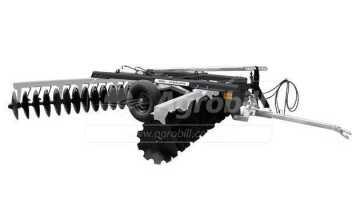 Grade Niveladora Controle Remoto NVCR 42 x 22″ x 200 mm / com Discos Recortados- Baldan > Nova - Grades Niveladoras - Baldan - Agrobill - Tratores, Implementos Agrícolas, Pneus