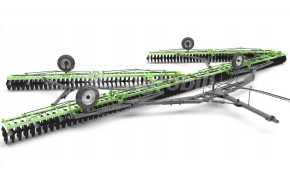 """Grade Niveladora Flutuante GANFPRD 104 x 22"""" x 4 x 185 mm / com Pneus – Piccin > Nova - Grades Niveladoras - Piccin - Agrobill - Tratores, Implementos Agrícolas, Pneus"""