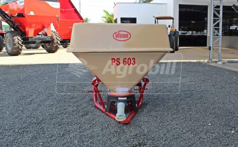 Distribuidor de Calcário Pendular 600 Litros PSPP 603 – Vicon > Novo - Distribuidor de Calcário - Vicon - Agrobill - Tratores, Implementos Agrícolas, Pneus