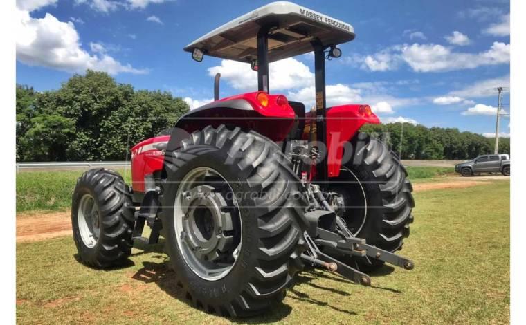 Trator MF 4290 4×4 Turbo ano 2018 c/ 1530 horas - Tratores - Massey Ferguson - Agrobill - Tratores, Implementos Agrícolas, Pneus