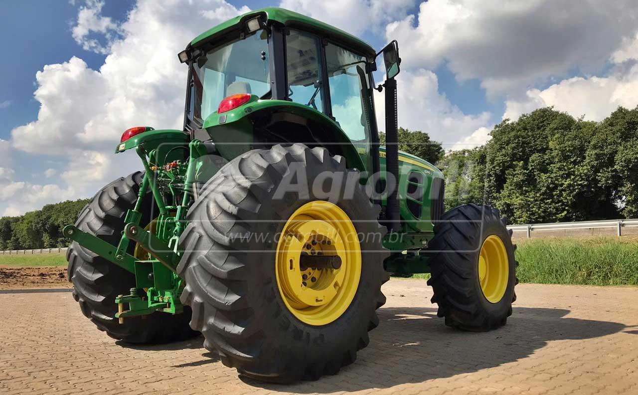 John Deere 6180 J 4×4 ano 2015 com 4362 horas - Tratores - John Deere - Agrobill - Tratores, Implementos Agrícolas, Pneus