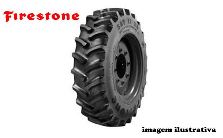 Pneu 20.8×42 / 14 Lonas – Firestone – Sat 23° – Tubeless > Novo - 20.8x42 - Firestone - Agrobill - Tratores, Implementos Agrícolas, Pneus