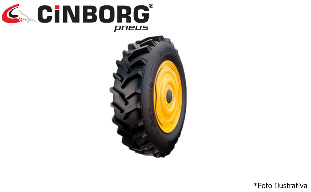 Pneu 800×18 / 12 Lonas – Cinborg – El Touro > Novo - 800x18 - Cinborg - Agrobill - Tratores, Implementos Agrícolas, Pneus
