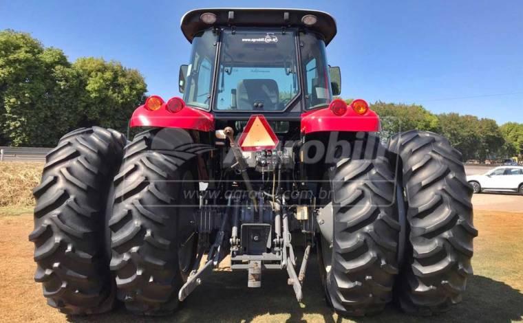 Trator Massey 7180 4×4 ano 2014 com pneus filipados (Dual) c/ 1525 horas - Tratores - Massey Ferguson - Agrobill - Tratores, Implementos Agrícolas, Pneus