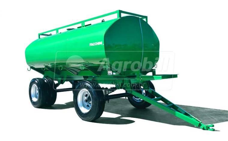 Reboque Agrícola Tanque de Água 12500 L / 2 Eixos / com Molas / Sem Pneus – Facchini – Novo - Tanque de Água - Facchini - Agrobill - Tratores, Implementos Agrícolas, Pneus