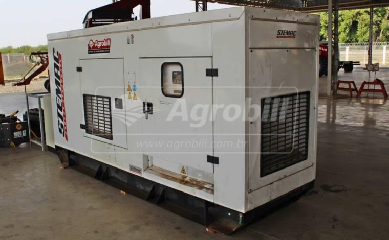 Gerador de Energia 150KWA – STEMAC – seminovo com 210 horas de uso - Caminhões - STEMAC - Agrobill - Tratores, Implementos Agrícolas, Pneus