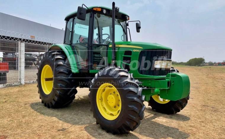John Deere 6100 J 4×4 ano 2018 câmbio Power Quad, único dono com 1170 horas - Tratores - John Deere - Agrobill - Tratores, Implementos Agrícolas, Pneus